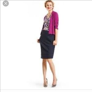 CAbi Navy Blue Lido Skirt